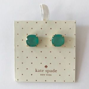 NWOB Kate Spade Aquamarine Stud Earrings
